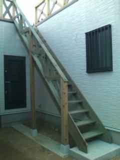 新居弁天三軒梯子